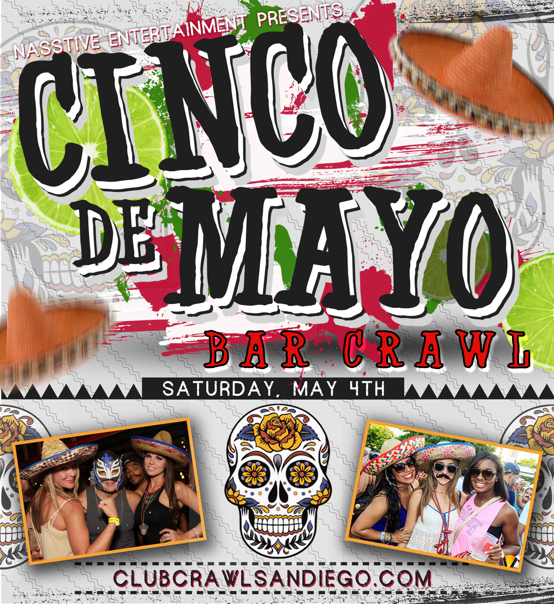 Cinco De Mayo Pub Crawl 2019