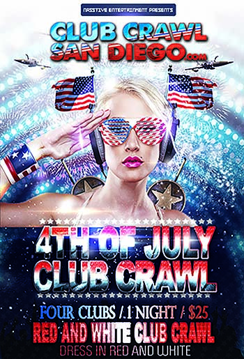 4th of July flyer for blog