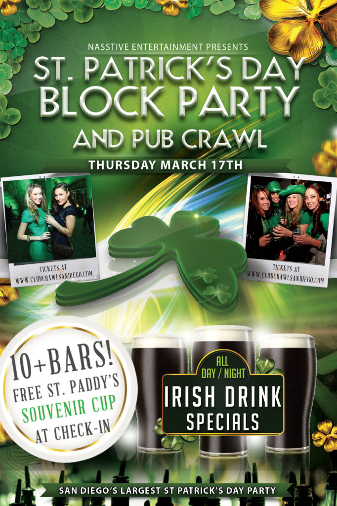 CCSD St. Patrick's Day Flyer FRONT
