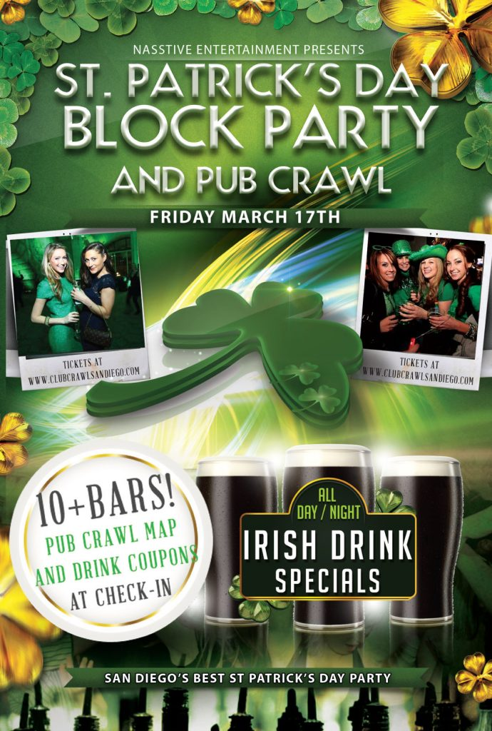SD St. Paddy's Day flyer FRONT