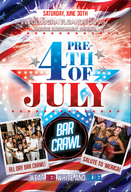 SD 4th of July Bar Crawl